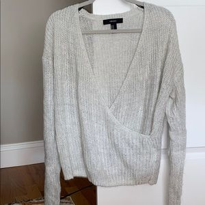 Forever 21 wrapped sweater
